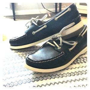 Navy Sperry Classic Boat Shoe